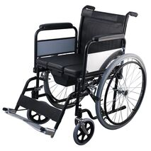 Reinforced Wheelchair with Pot