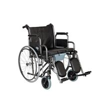 Heavy duty wheelchair with pot