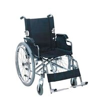Foldable wheelchair with partly folding back