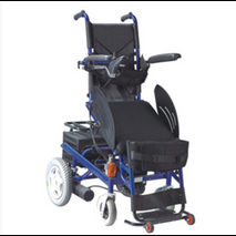 Electric Powered Upright Wheelchair