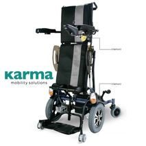 Ergo Stand Electric Powered Upright Wheelchair