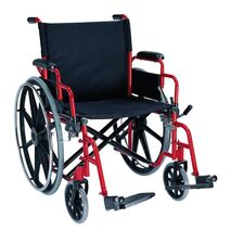 Heavy Duty Wheelchair with a max patient weight of 182 kilograms