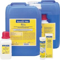 Korsolex PAA - instrument disinfectant cleaning