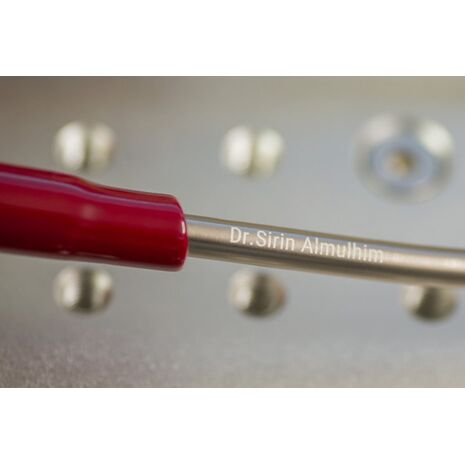 3M Littmann Cardiology IV Stethoscope 6170 Burgundy / Mirror Finish