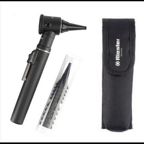 Riester Penscope Otoscope 2.7v with Pouch - Black 2056-200